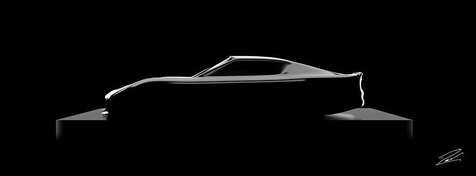 Maserati GranTurismo MC Stradale 135cmx50cm