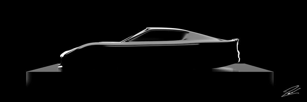 Maserati GranTurismo MC Stradale 75cmx25cm