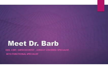 Dr. barb Frackowiak discusses Airway centred Orthodontics