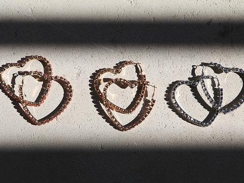 Kasei's Heart Earrings