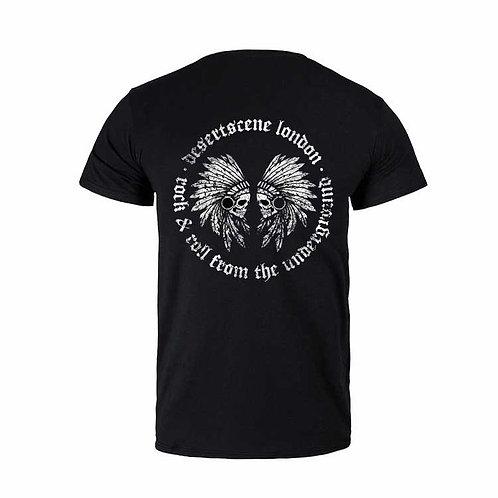 Desert Scene London SkullロゴTシャツ