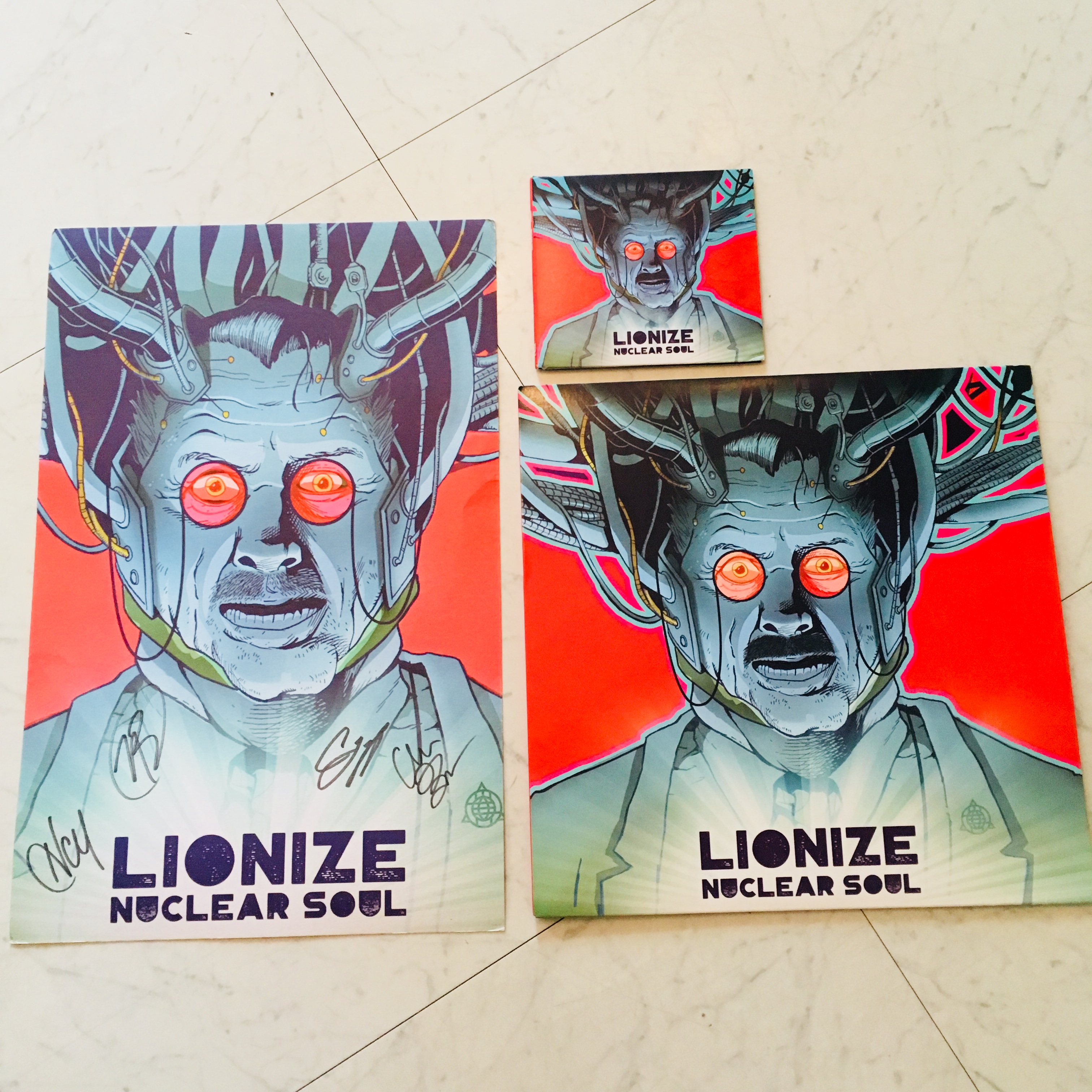 LIONIZE - Nuclear Soul 入荷!
