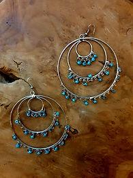 3 ring in ring oorbellen