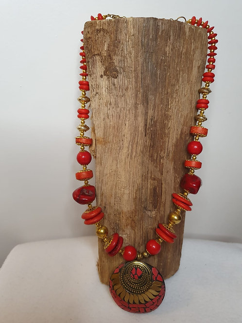 Rode Delhi collier
