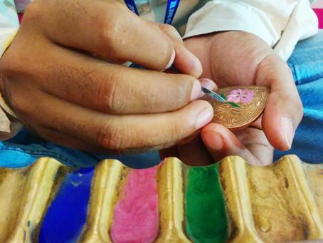 Meenakari is een oude Indiase kunstvorm