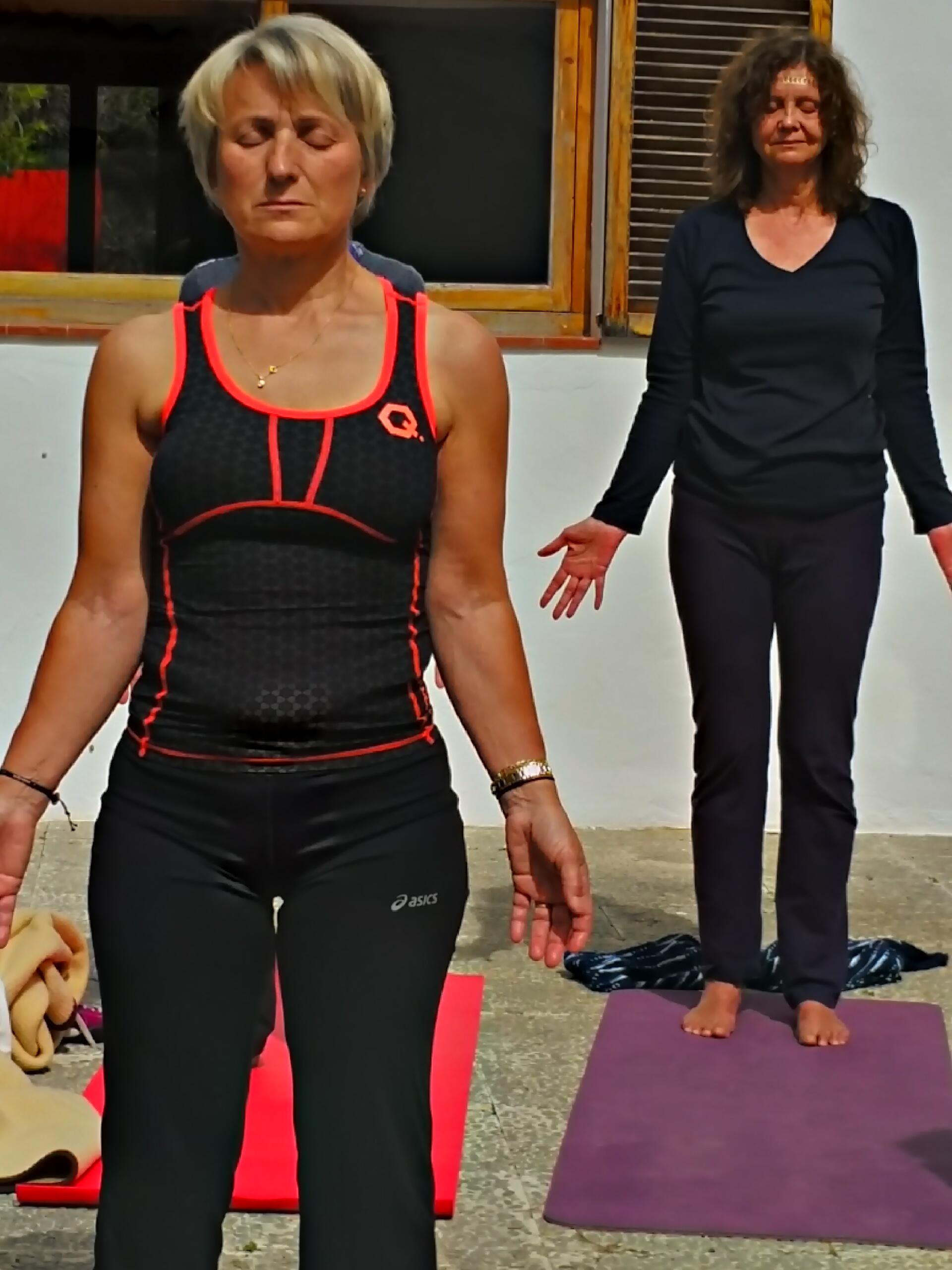 Josée Gauthier Yoga shala Ibiza