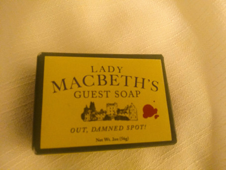 Lady Macbeth's Guest Soap at the time of COVID-19