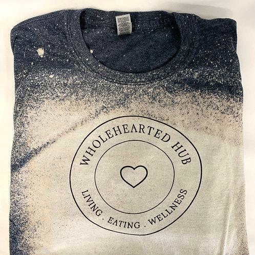 Wholehearted Hubster Bleach Tee