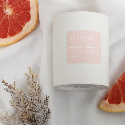 Elevate Grapefruit + Thyme Candle