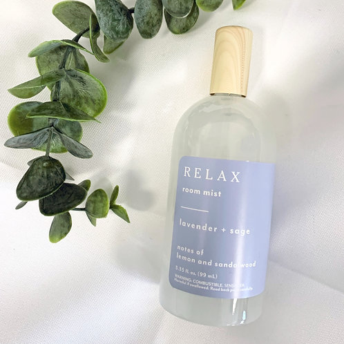 Relax Lavender + Sage Room Spray