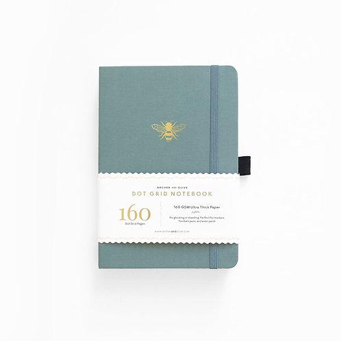Archer & Olive Vintage Bee Dot Grid Notebook