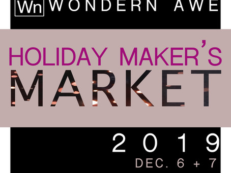 WnA Holiday Maker's Market 2019