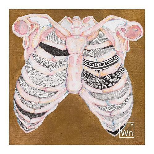 Your Soul is Stuffed . . .     original artwork by Sara A.E. Klein