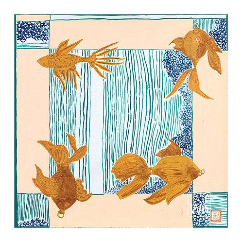Again + Again original artwork by A.E. Macha
