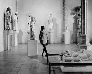 La visiteuse du musée