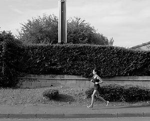 Coureuse des rues