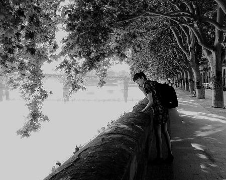 La visiteuse de la Garonne