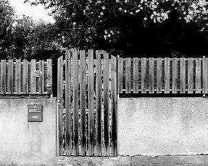 La porte de jardin