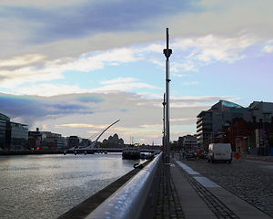 Dublin new Liffey bridge