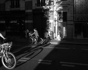 Les vélos du soir