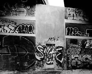 Les tags sous le pont