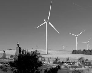 Les éoliennes du Causse