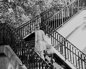 Escalier poussette