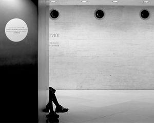 Un siége au Louvre