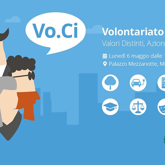 Vo.Ci 2019 | Volontariato Civico: Valori Distinti, Azioni Condivise