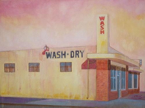 Wash & Dry Acrylic Painting