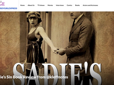 Sadie's Sin Book Review from The Nerdy Girl Express