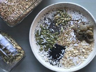Ayurveda Granola | super grains | cumin | cardamom