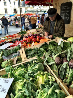 shop at the farmers market
