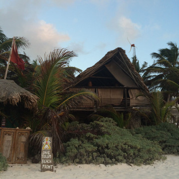 Testing the waters of solo travel : Tulum, Mexico