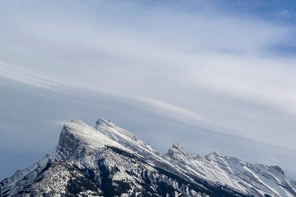 Mount Rundle Peak