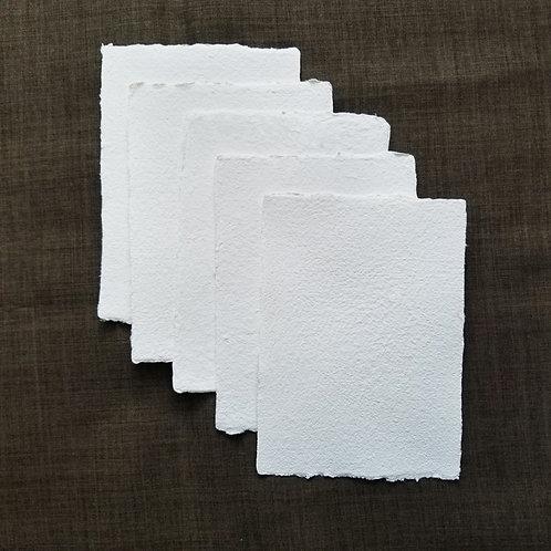 |  12x17cm  |  再生白棉紙10張  |  Reborn white cotton paper 10pc