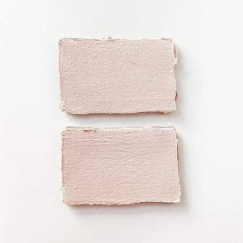 5.5x9cm 玫瑰粉紅水木紙     Pink Rose Somood paper