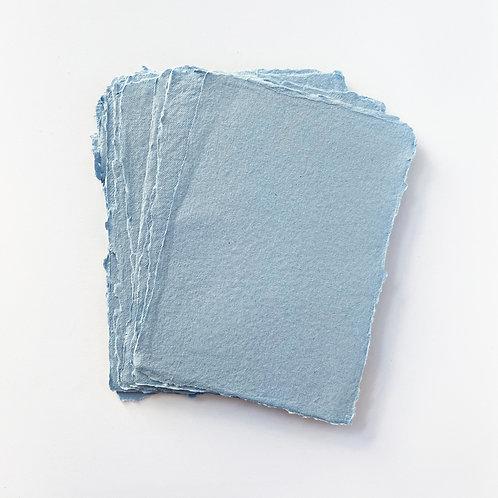 10x15cm 天藍水木紙     sky blue Somood paper