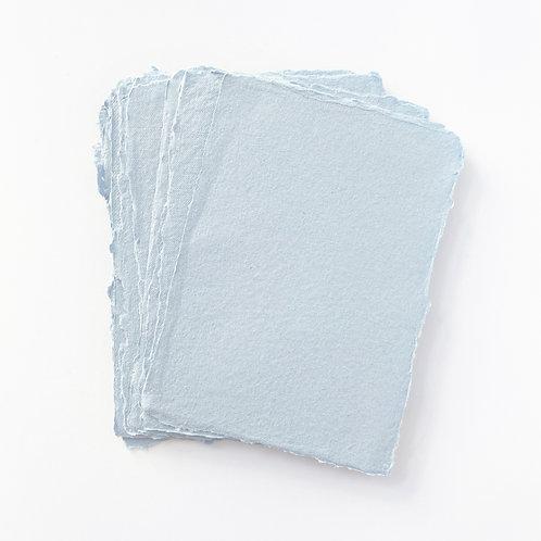 10x15cm 繡球藍水木紙  |  Kanmara Blue Somood paper
