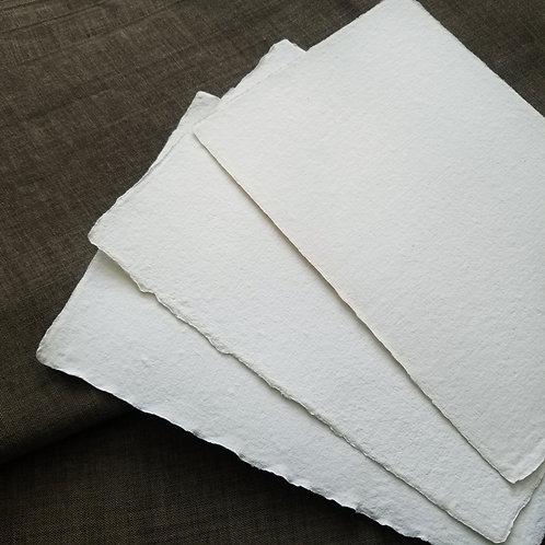    15x20cm     再生白棉紙10張     Reborn white cotton paper 10pcs