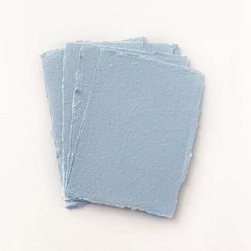 10x15cm 天藍水木紙  |  Sky Blue Somood paper