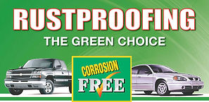 Rustproofing green choice