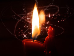 Single candle2