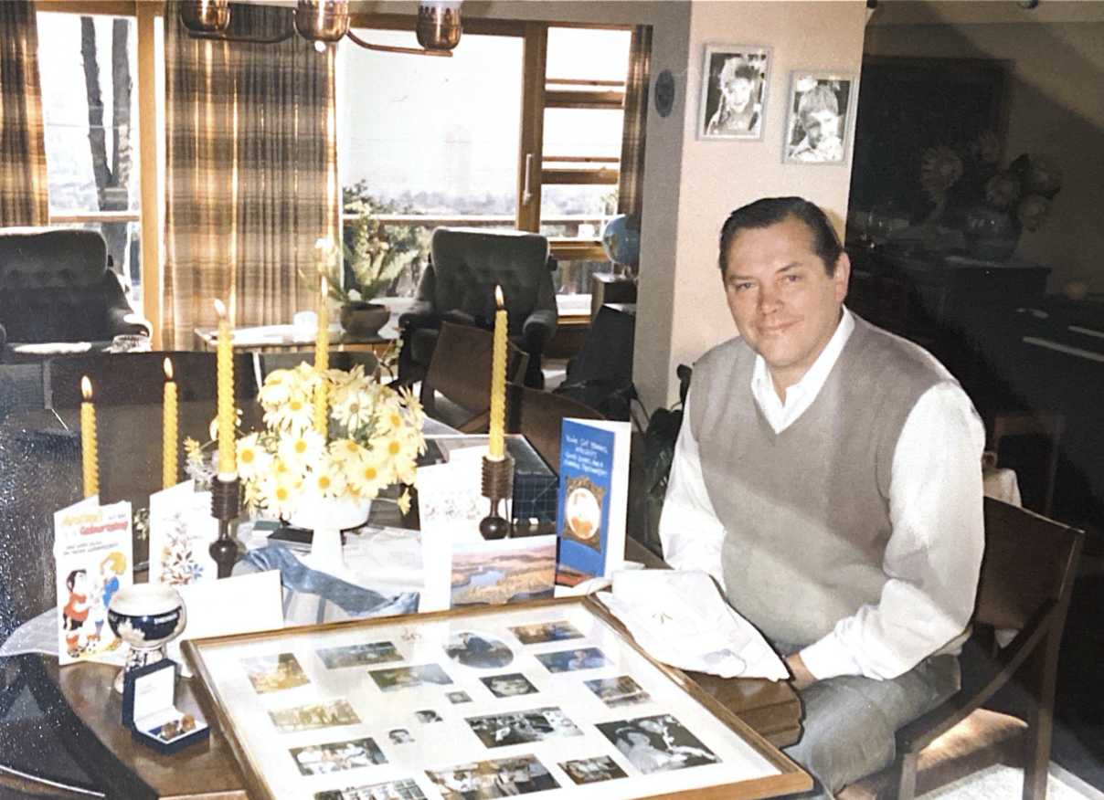 Reinhard 50th Birthday 4 Nov 1986