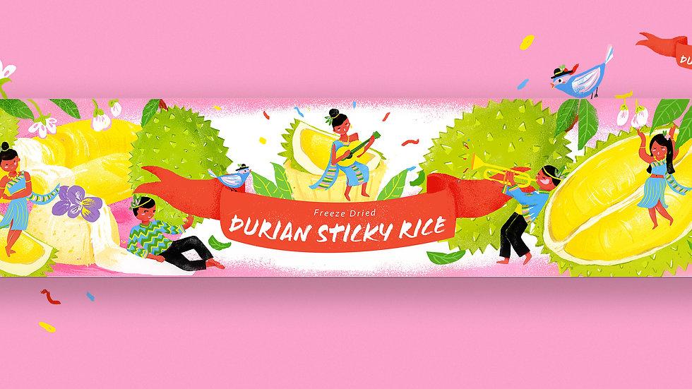Freeze Dried Durian Sticky Rice