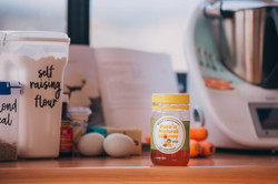 Cooking with raw Australian honey