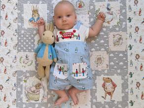 Peter Rabbit Baby Dungarees