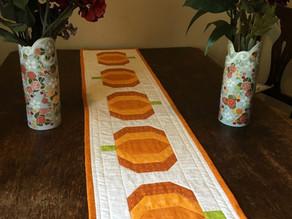 Pumpkin Patch Table Runner