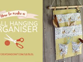 DIY Hanging Wall Organiser by Debbie Shore
