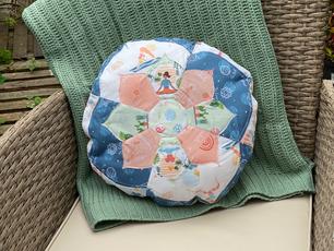 Round Yoga Cushion